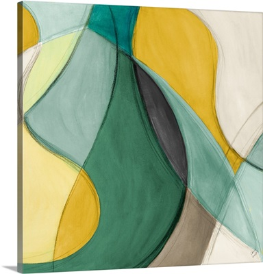 Curving Color Square II