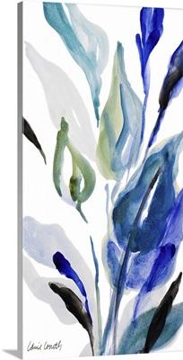 Delicate Blue Panel II