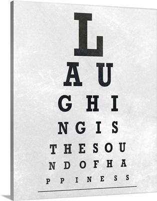 Eye Chart Typography II