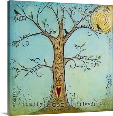 Faith Family Friends Tree