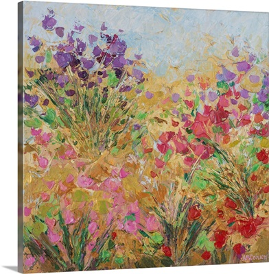 Floral Fields I