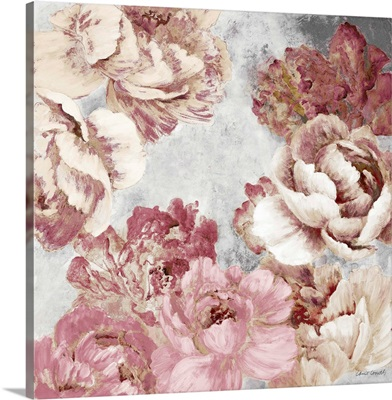 Florals in Pink and Cream