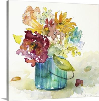 Flower Burst in Vase II