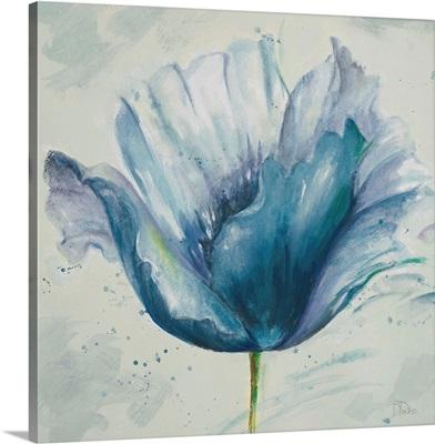 Flower in Blue I
