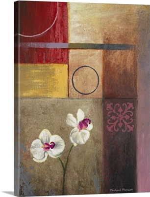 Flowers And Abstract Study I