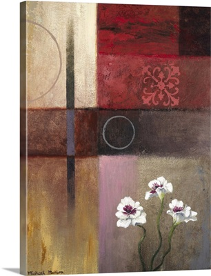 Flowers And Abstract Study II