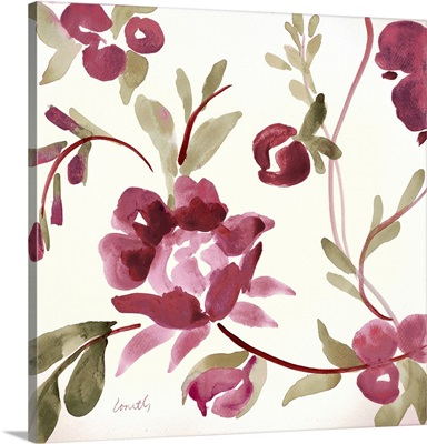 French Floral in Marsala