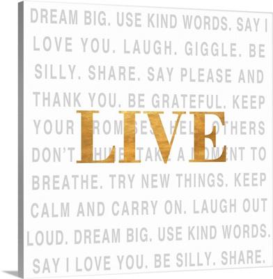 Gold Love Type I (Live)