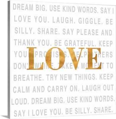 Gold Love Type I (Love)