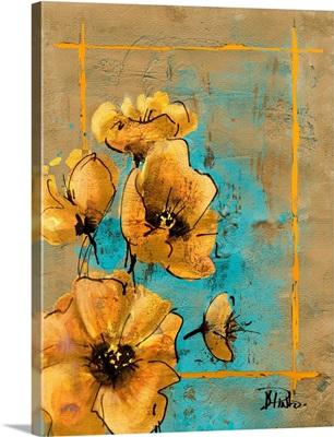 Golden Artistic Poppy I