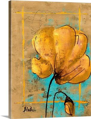 Golden Artistic Poppy II