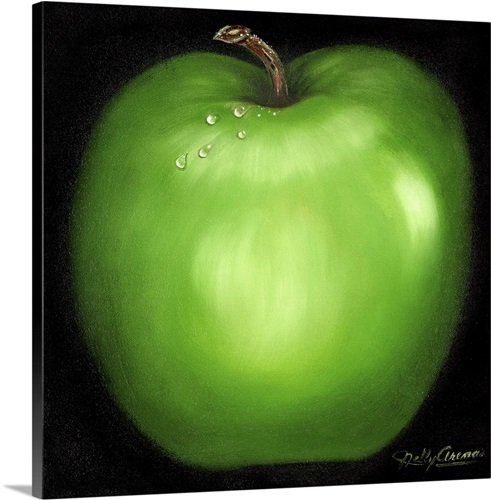 Green Apple Wall Art, Canvas Prints, Framed Prints, Wall Peels ...