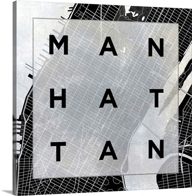 Manhattan Square BW