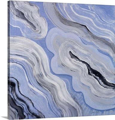 Moody Blue Agate I