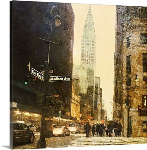Awesome New York Wall Art Canvas Images - Wall Art Design ...
