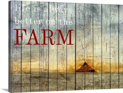 On the Farm I