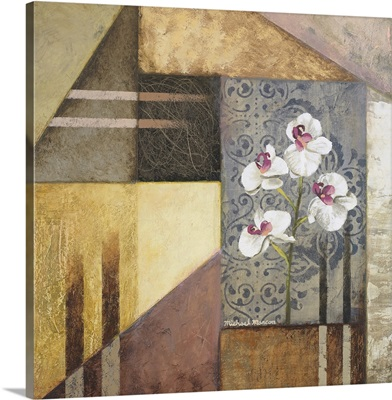 Orchids and Shapes I