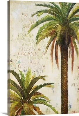 Palms And Scrolls I