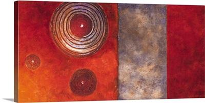 Red Spirals II