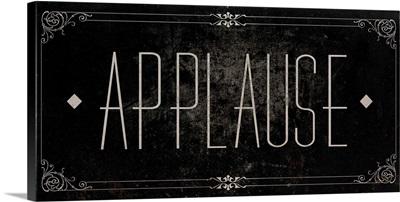 Silent Film Type I (Applause)