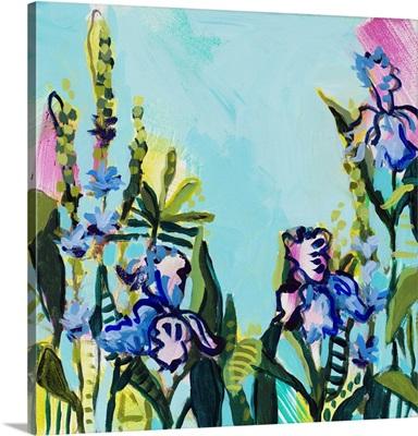 Summer Blooms On Blues II