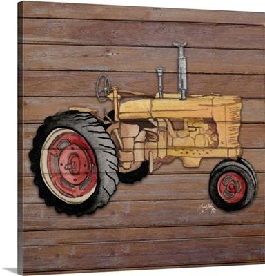 Tractor On Wood I