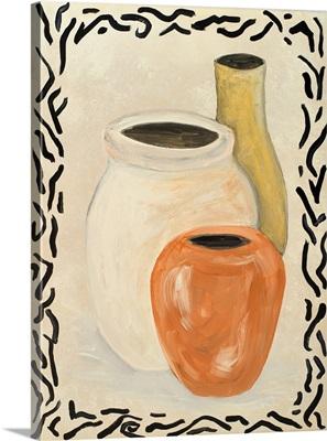Tribal Vase I