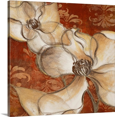 Whispering Magnolia on Red II