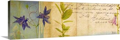 Wildflower Panel I