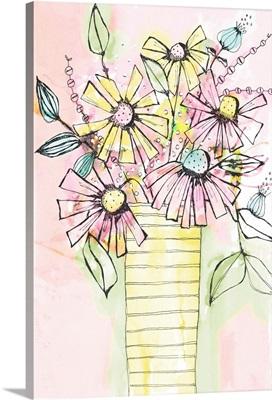 Wildflowers Vase
