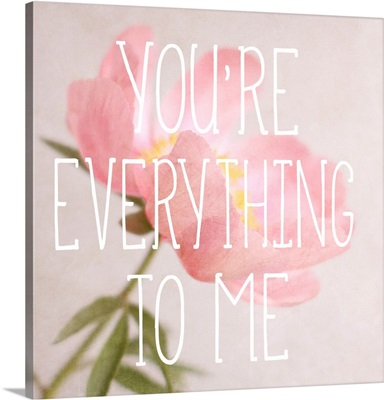 You're Everything to Me