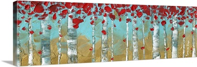 Abstract Panoramic Landscape
