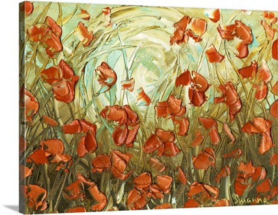 Amber Poppies