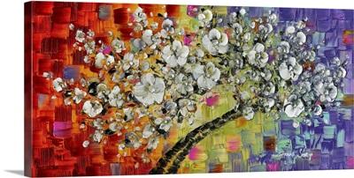 Multi White Cherry Blossom