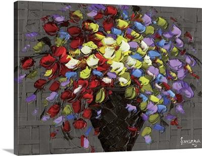 Multicolor Flowers Bouquet
