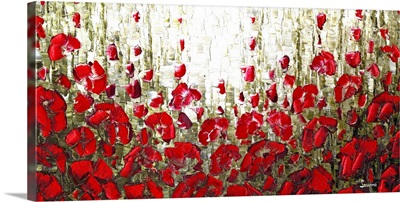 Red Poppies Landscape