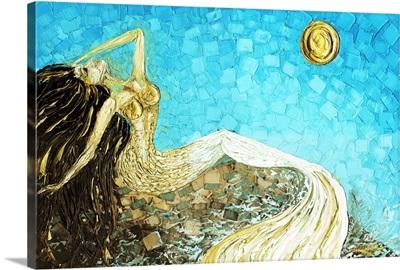 White Gold Mermaid