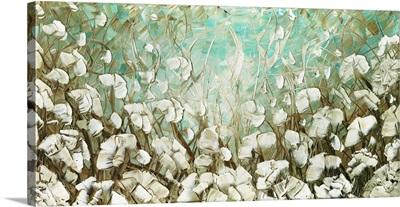 White Poppies Landscape