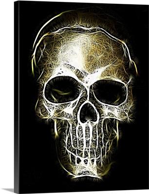 Woven Light Skull