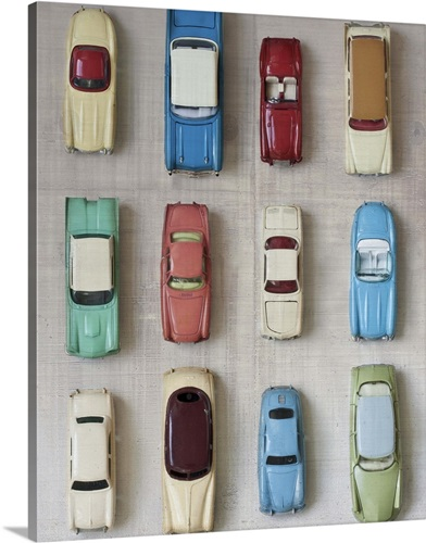 Toy Cars Wall Art, Canvas Prints, Framed Prints, Wall Peels | Great ...