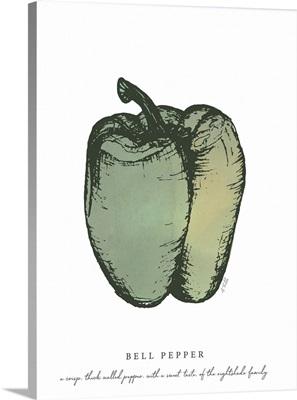Bell Pepper Kitchen Print