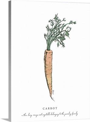 Carrot Kitchen Print