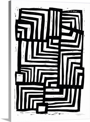 Moving Lines In Black