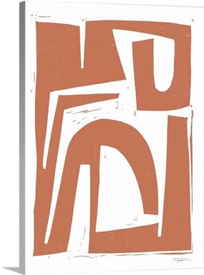 Reversible No.1 In Dusty Terracotta