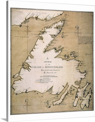 A Sketch Of the Island Of Newfoundland, 1763
