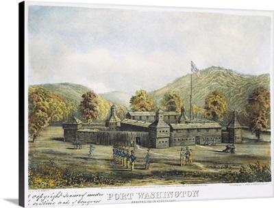 A View Of Fort Washington In Cincinnati, Ohio