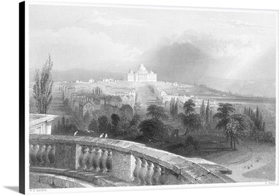 A View Of the United States Capitol From the White House, 1839