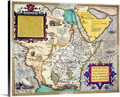 African Map, 1595
