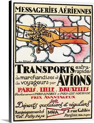 Aviation Poster, 1919