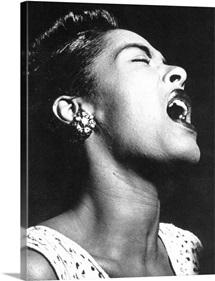 Billie Holiday (1915-1959), American singer